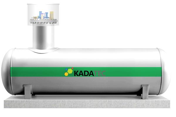 Газгольдер Kadatec (Чехия)